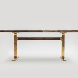 Cast bronze shaker table by Jeff Martin Joinery