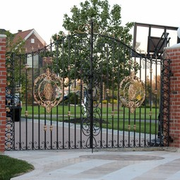 Custom Ornamental Gates by Exclusive Iron Works New York