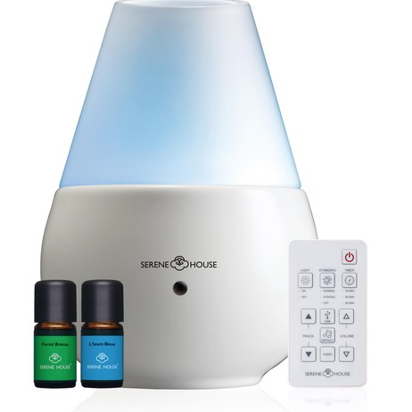 Vulcan II Aromatherapy Diffuser - White		 by Serene House USA