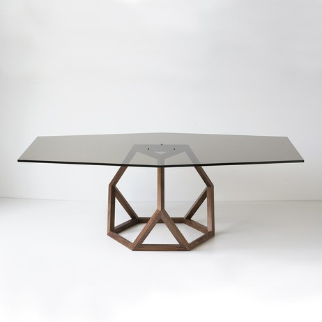 Robert Sukrachand, Tetrahedron Coffee Table by Fiercely Curious