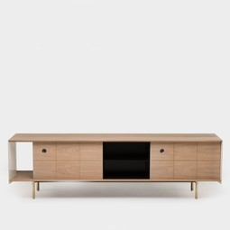 Mitch Low Cabinet by Neri & Hu for De La Espada by The Future Perfect