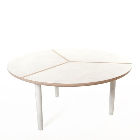 Round Marlon Table by Luca Nichetto for De La Espada by The Future Perfect