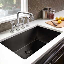 ROHL Single Bowl Stainless Steel Kitchen Sink by ROHL