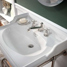 ROHL Perrin & Rowe Edwardian Low Level Spout Widespread Faucet by ROHL
