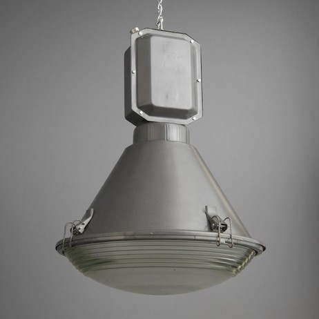 Reclaimed Polish factory lights by SkinFlint