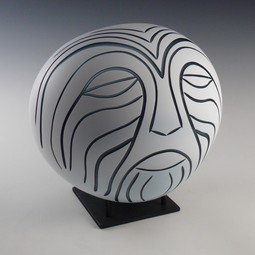 Mask by Leonoff Art Glass