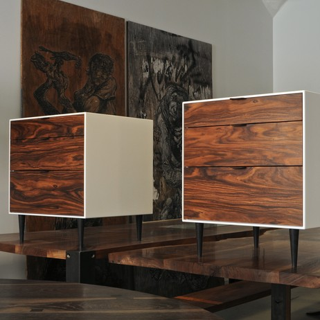 Rosewood Nightstands by Palo Samko