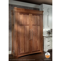Ruskin Appliance ARmoire by Rutt HandCrafted Cabinetry
