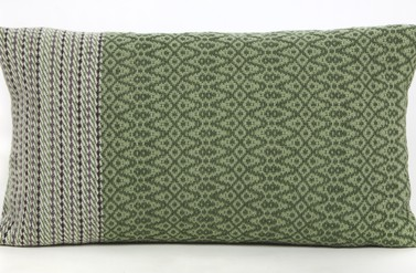 "Small ""Euonymus"" Cushion - Alison Yule Textiles"