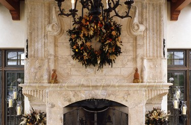 Custom Fireplace - Archetype Inc.