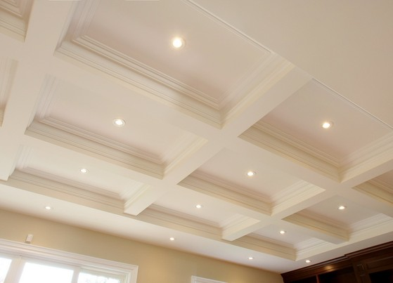 Coffered Ceiling - Danniels-French Design