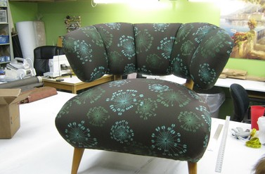 Reupholstery - designs by mara, inc.
