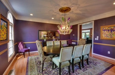 Croson Residential: Dining Room - Heather Bates Design