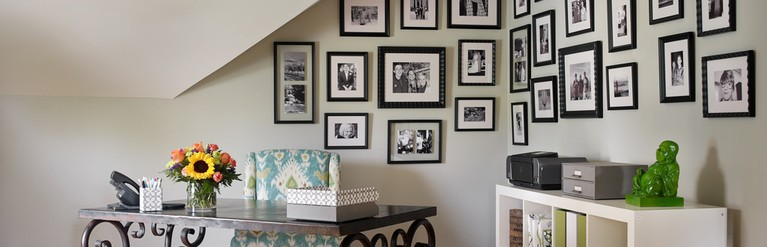 black and white gallery - Kandrac & Kole Interior Designs