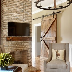 rustic chat space - Kandrac & Kole Interior Designs