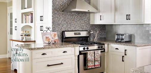 traditional/contemporary mix of a kitchen - Kandrac & Kole Interior Designs