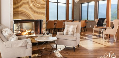 Contemporary Mountain Lodge - Kevin Gray Interiors