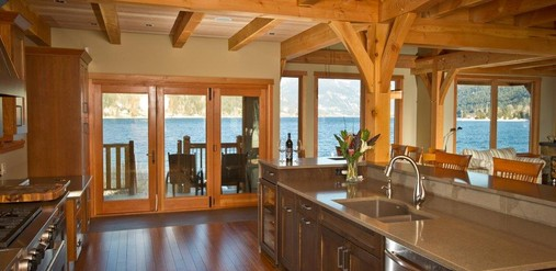 Lakeside Timber Charmer - Kevin Gray Interiors