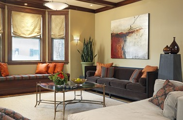West Newton Living Room - Laurie Gorelick Interiors