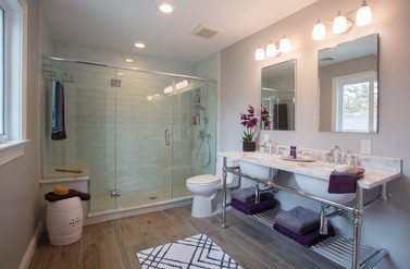 Master Bath - Pizzigati Designs