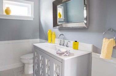 Powder Room - Pizzigati Designs