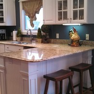 White Kitchen Makeover - Roanoke Woodworking