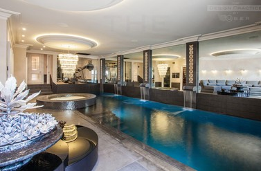 The Vicarage - underground pool - The Design Practise by UBER