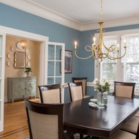 Charming 1930's Home - Tuscan Blue Design